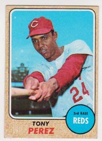 1968 Topps Tony Perez #130 Card - HOF'er