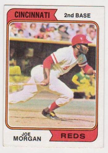 1974 Topps Joe Morgan #85 Card - HOF'er