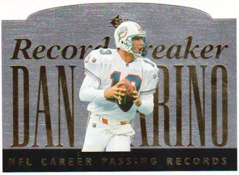 DAN MARINO - 1995 Upper Deck SP C-Card - Numbered Limited Edition