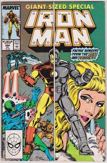1989 Iron Man #244 Issue - Marvel Comics