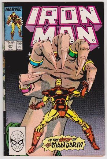 1989 Iron Man #241 Issue - Marvel Comics