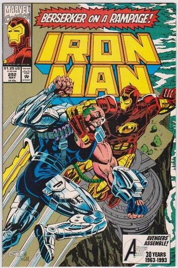 1993 Iron Man #292 Issue - Marvel Comics