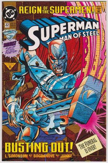 1993 DC Comics Superman The Man Of Steel #22 Issue