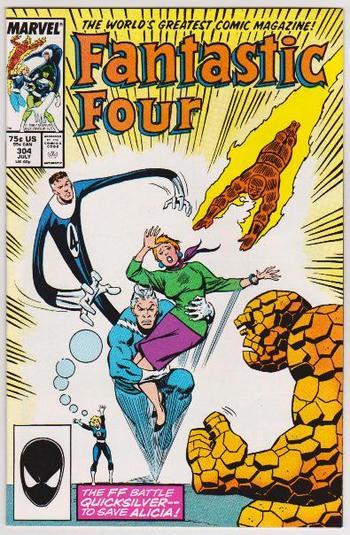 1987 Marvel Comics Fantastic Four #304 Issue