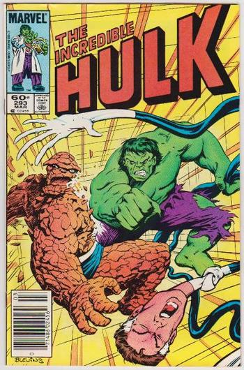 1984 The Incredible Hulk #293 Issue - Marvel Comics