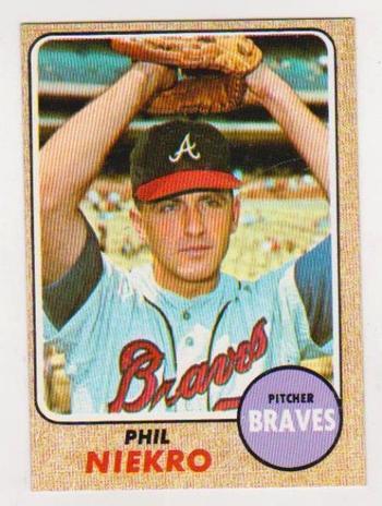 1968 Topps Phil Niekro #257 Card - HOF'er