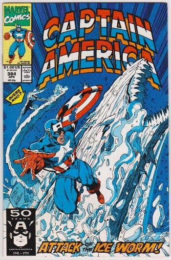 1991 Captain America #384 Issue - Marvel Comics