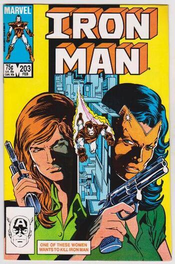 1986 Iron Man #203 Issue - Marvel Comics