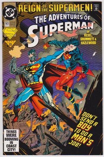 1993 DC Comics The Adventures Of Superman #503 Issue