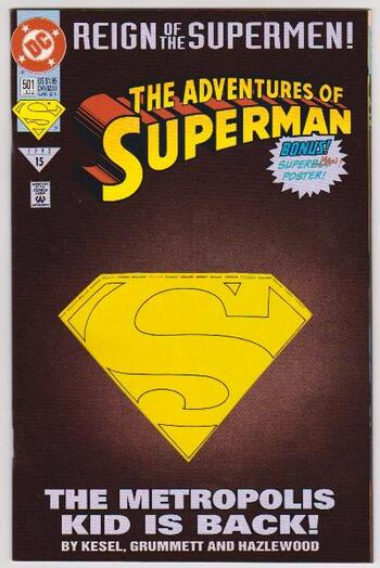 1993 DC Comics The Adventures Of Superman #501 Issue