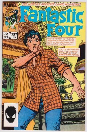 1986 Marvel Comics Fantastic Four #287 Issue