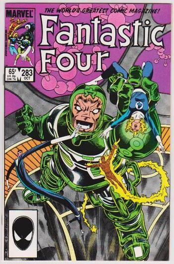1985 Marvel Comics Fantastic Four #283 Issue