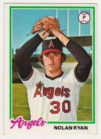 Vintage - 1978 Topps Nolan Ryan #400 Card - HOF'er