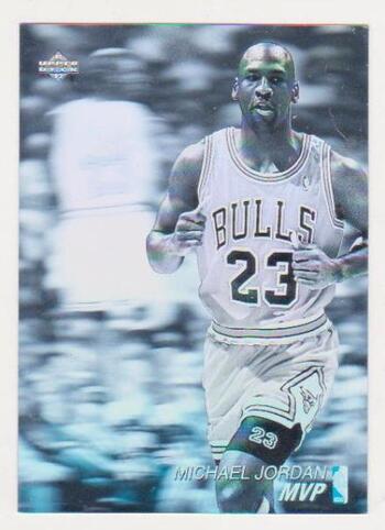 1991-92 Upper Deck Michael Jordan #AW4 Hologram Insert Card