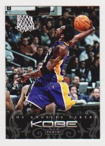 Kobe Bryant 2012 Panini Anthology #43 Card