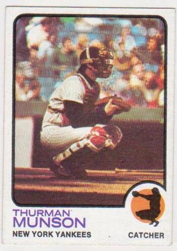 1973 Topps Thurman Munson #142 Card - Yankees