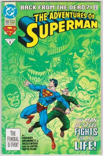 1993 DC Comics The Adventures Of Superman #500 Issue