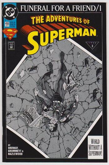 1993 DC Comics The Adventures Of Superman #498 Issue