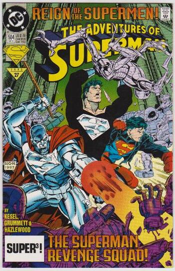 1993 DC Comics The Adventures Of Superman #504 Issue