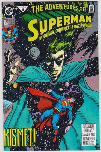 1992 DC Comics The Adventures Of Superman #494 Issue