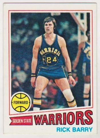1977-78 Topps Rick Barry #130 Card - HOF'er