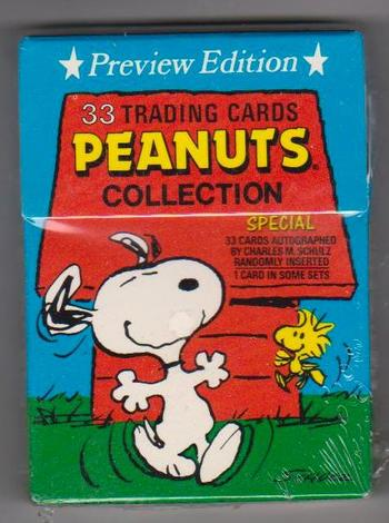 Sealed - 1992 Peanuts Collection 33 Card Factory Set - Charlie Brown Snoopy