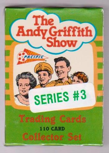 Sealed - The Andy Griffith Show 1991 Pacific Series 3 110 Card Set