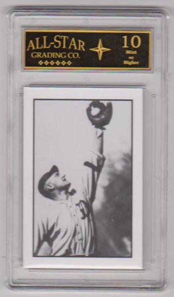 Graded 10 - Ty Cobb 1984 R.G.I. #5 Card - HOF'er
