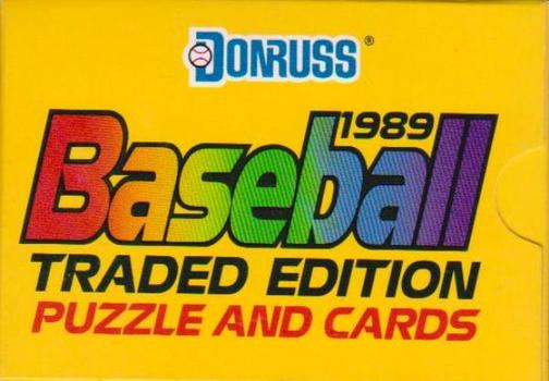 1989 Donruss Traded 56 Card Factory Set - Nolan Ryan + More