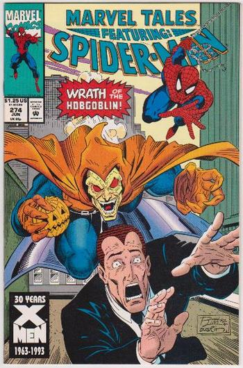 1993 Marvel Tales Featuring SPIDER-MAN #274 Issue - Marvel Comics