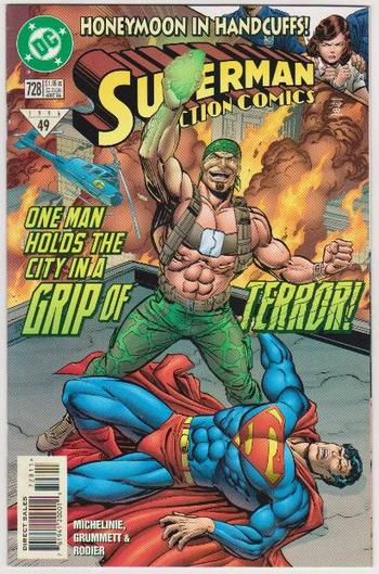 1996 DC Comics SUPERMAN IN ACTION COMICS #728 Issue