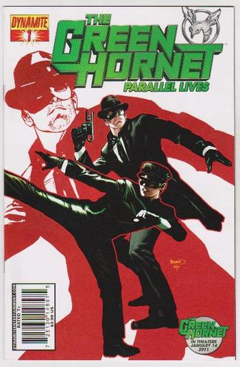 2010 The Green Hornet Parallel Lives #1 Issue