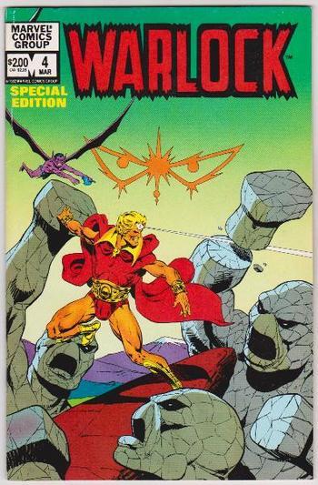 1983 WARLOCK #4 Issue - Marvel Comics