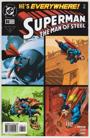 1999 DC Comics Superman The Man Of Steel #86 Issue