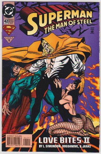 1995 DC Comics Superman The Man Of Steel #42 Issue