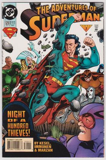 1995 DC Comics The Adventures Of Superman #520 Issue