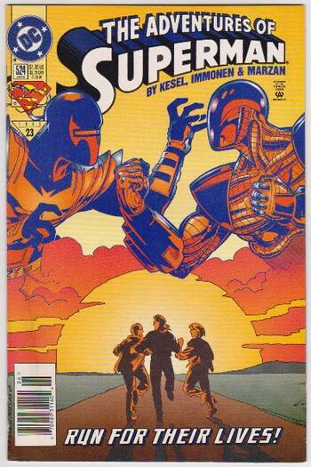1995 DC Comics The Adventures Of Superman #524 Issue