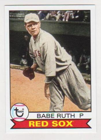 2016 Topps Archives Babe Ruth #101 Card