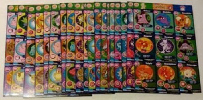 1999 Pokemon Cards Uncut Sheet Burger King Complete 20 Sheet Set