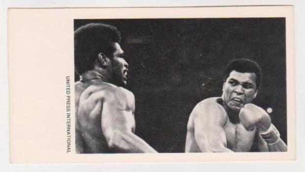 1979 UPI Muhammad Ali Greatest Moments in Sports History Card With Record - Vintage