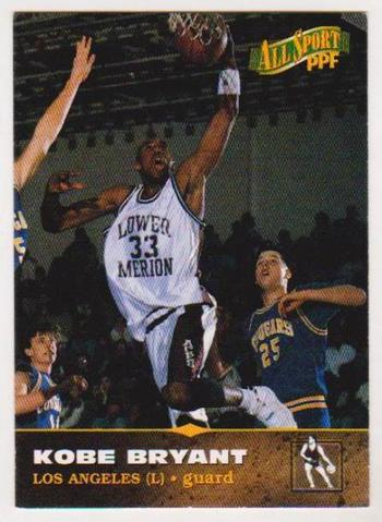 1996 Kobe Bryant Score Board All Sport PPF #11 Rookie Card