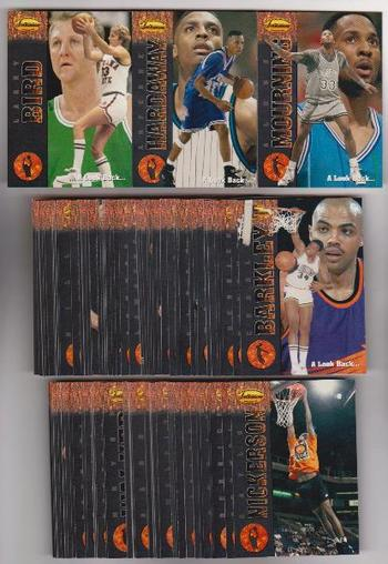 1994-95 Ted Williams Company Basketball 90 Card Complete Set