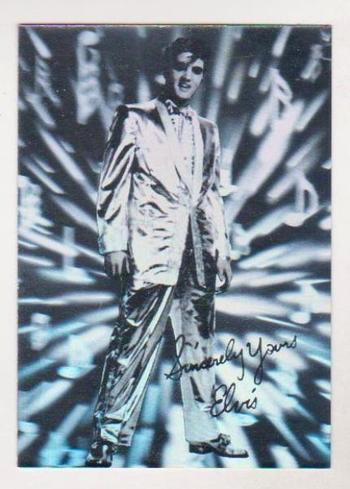 1993 Rockstreet Elvis Presley Hologram Promo - Only 25,000 Produced