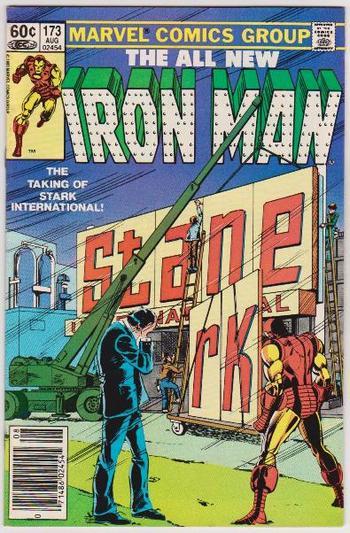 1983 Iron Man #173 Issue - Marvel Comics