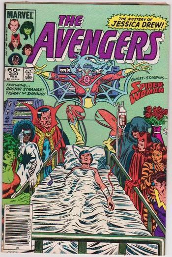 1984 AVENGERS #240 Issue - Marvel Comics