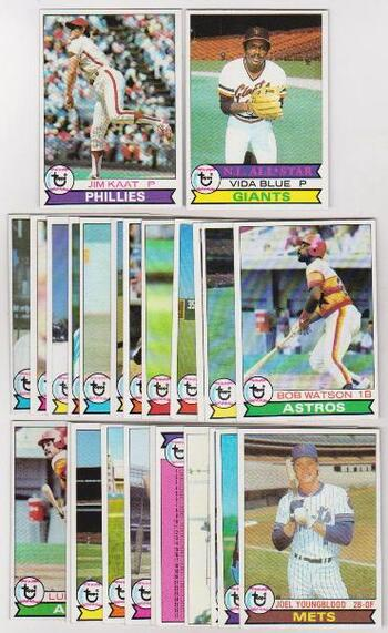 25 Different 1979 Topps Baseball Cards - Jim Kaat + More