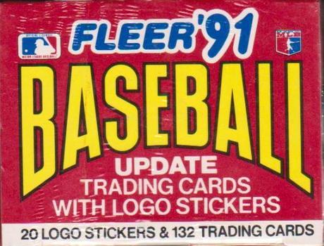 Sealed - 1991 Fleer Update Baseball 132 Card Set