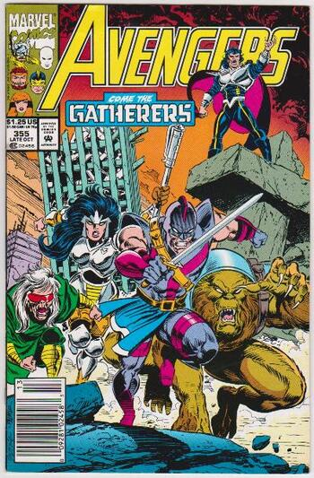 1992 The Avengers #355 Issue - Marvel Comics