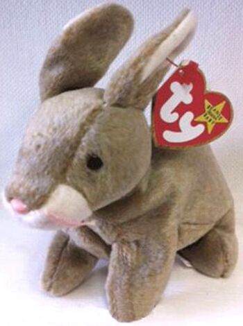 1999 Ty Beanie Baby Nibbly The Bunny - New With Tags