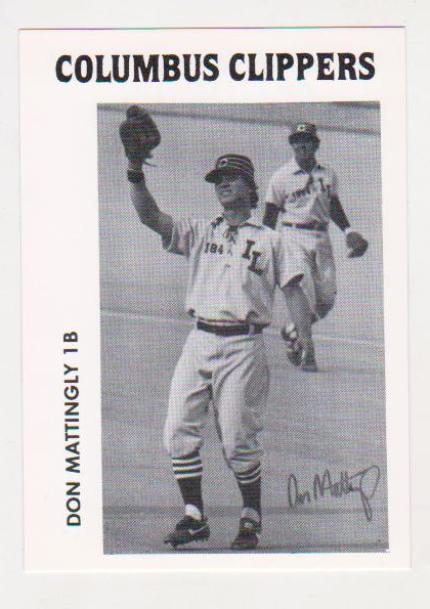 Lot Detail - Rare 1982 Police Columbus Clippers Don